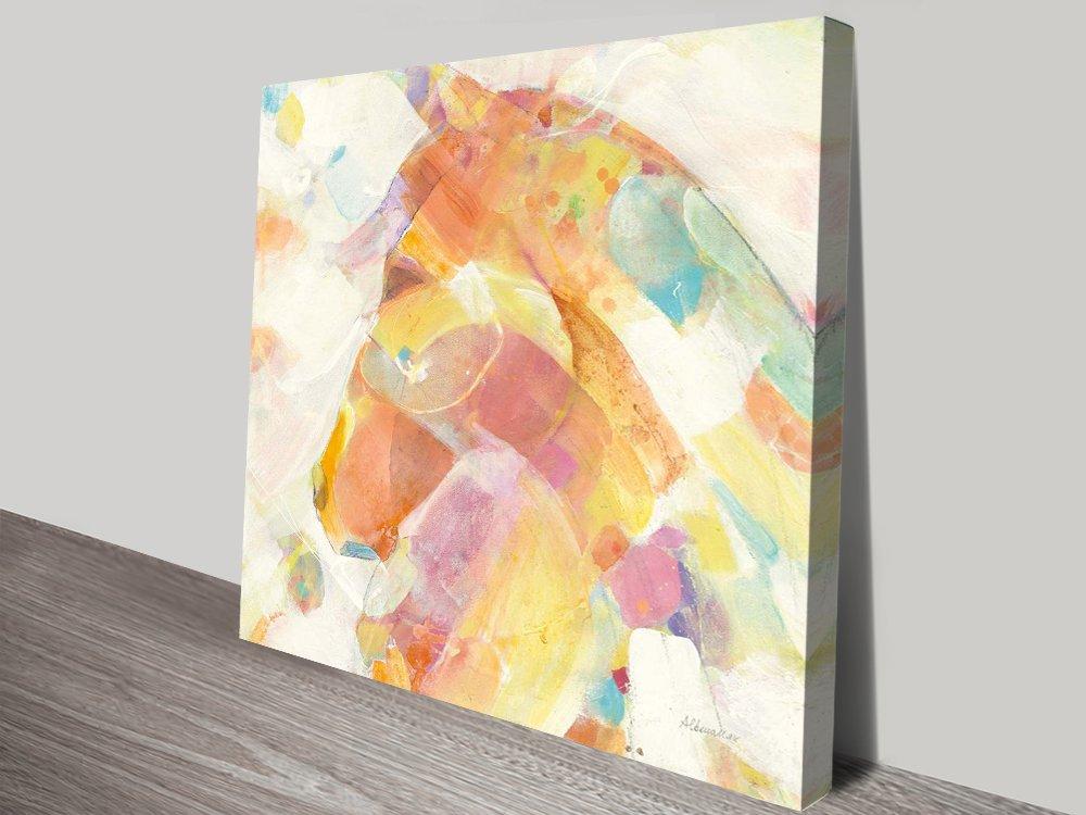 Buy Kaleidoscope Horse II Print Cheap Art Online