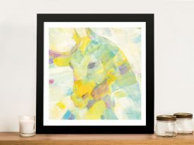 Buy Kaleidoscope Horse III Abstract Framed Art