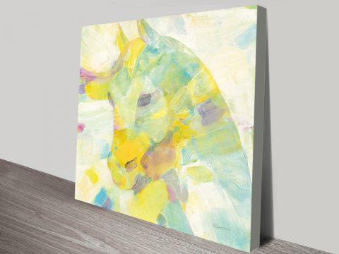 Buy Kaleidoscope Horse III Cheap Canvas Prints AU