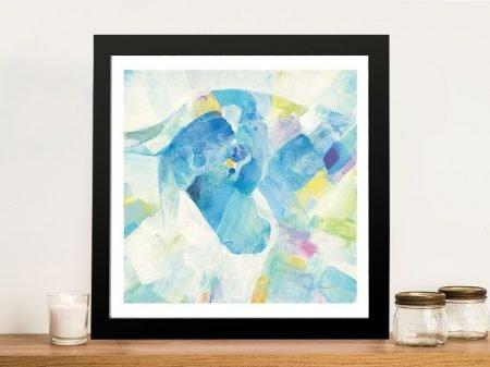 Buy Kaleidoscope Horse IV Framed Wall Art