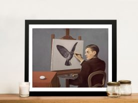 Buy La Clairvoyance a Classic Framed Print