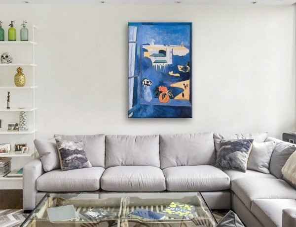 Matisse Window at Tangiers Canvas Artwork