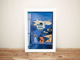 Matisse Window at Tangiers Framed Wall Art