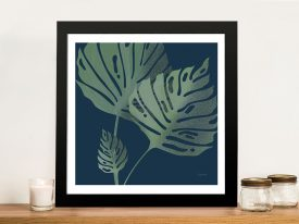 Buy a Framed Canvas Print of Monstera lll