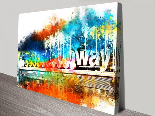 Buy a Print of Manhattan Subway Gift Ideas Online