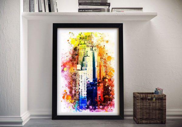Buy The New Yorker Framed Canvas Artwork