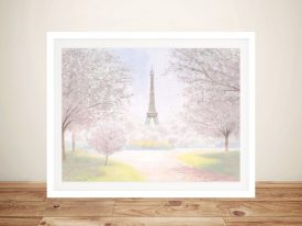 Buy Pretty Paris Canvas Wall Art by James Wiens