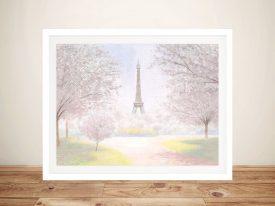 Buy Pretty Paris Canvas Wall Art by James Wiens