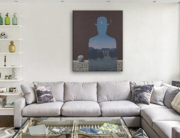 Buy L'Heureux Donateu Cheap Magritte Art AU