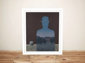 Buy L'Heureux Donateu Framed Art by Magritte