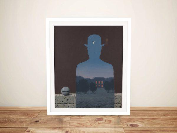 Buy L'Heureux Donateu Framed Art by Magritte