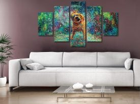 Buy Shakin' Jake Framed Wall Art by Iris Scott