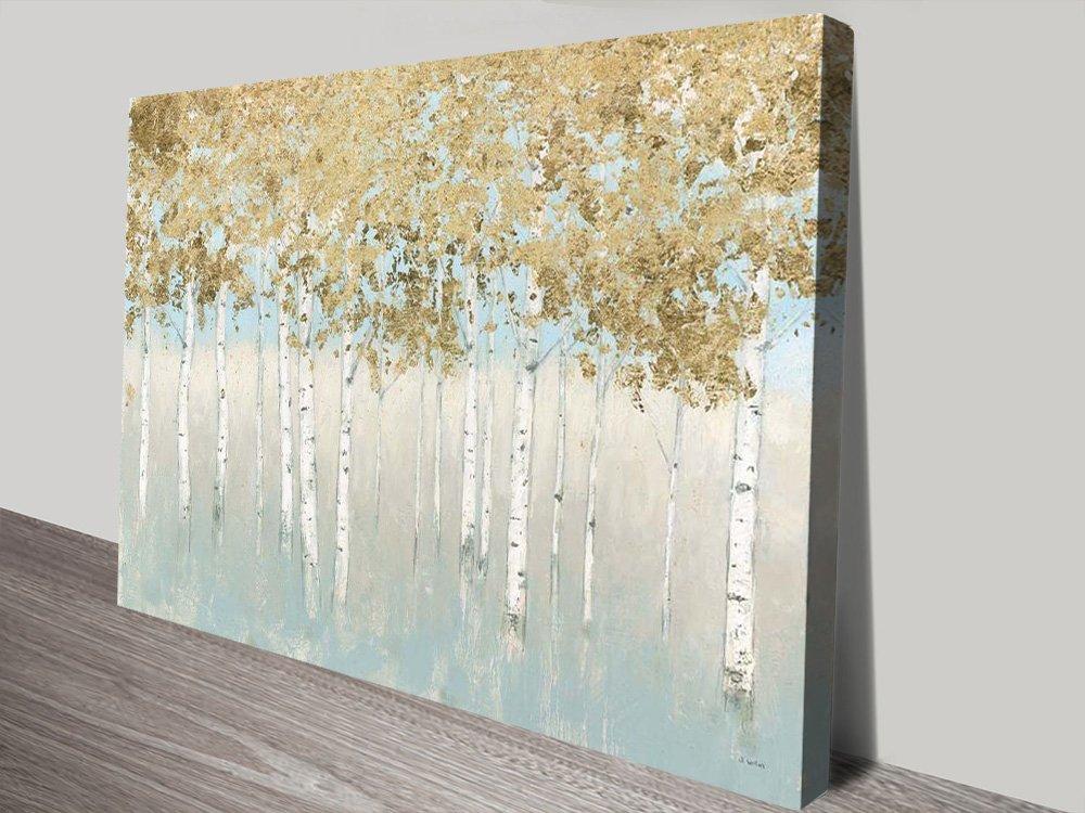 Buy a Shimmering Forest Print Affordable Art AU