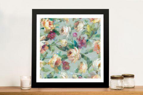 Buy Summer Garden Pattern l Canvas Artwork