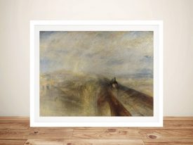 Buy a Framed Print of Rain Steam and Speed