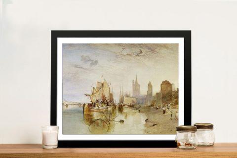 Buy Cologne The Arrival Framed Classic Artwork
