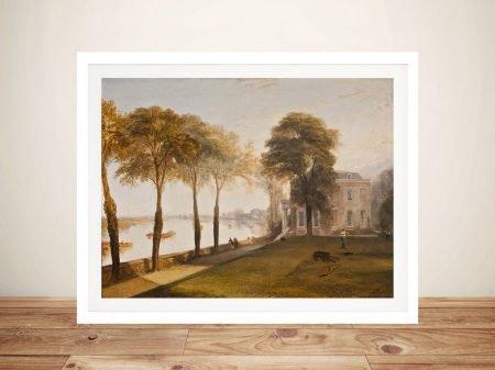 Buy a Print of Mortlake Terrace by JMW Turner