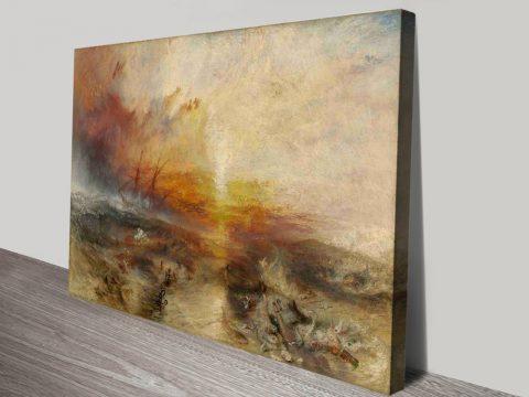 Buy The Slave Ship Cheap Turner Canvas Art AU