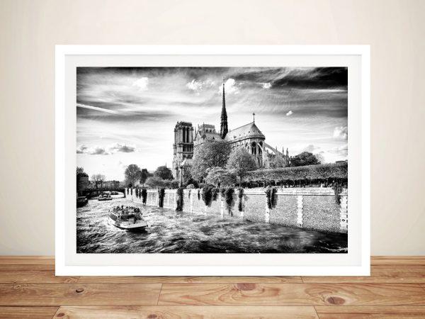Buy Notre Dame de Paris Framed Canvas Artwork