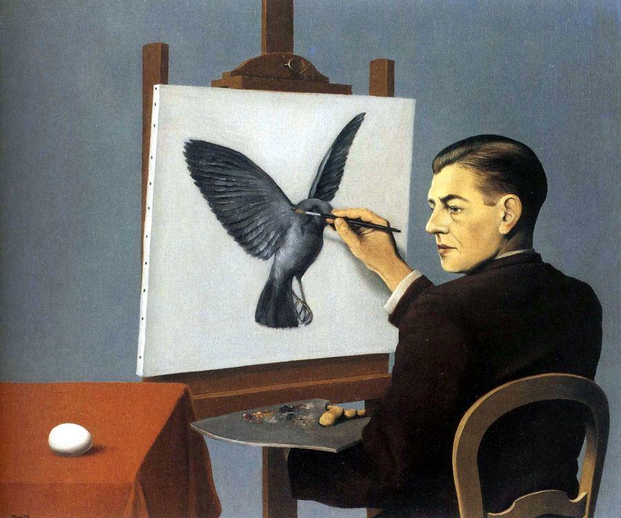 René Magritte, La Clairvoyance