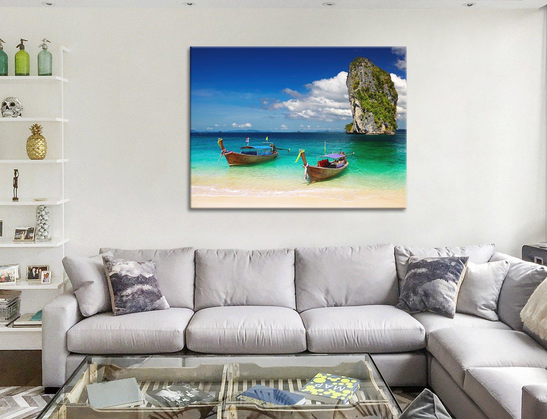 Paradise Beach Canvas Artwork