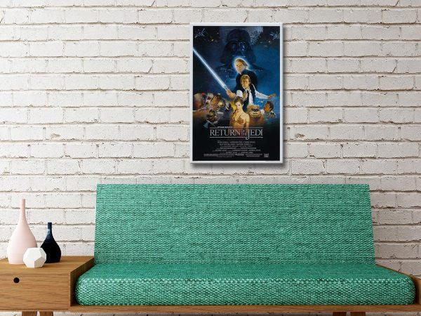 Star Wars Return of the Jedi Canvas Artwork