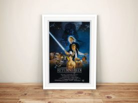 Buy Star Wars Return of the Jedi Framed Poster Wall Art