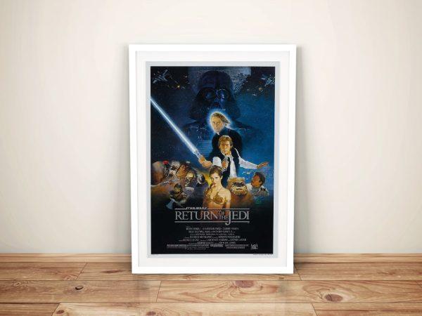 Buy Star Wars Return of the Jedi Framed Poster Wall Art