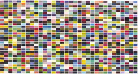 1024 colours Gerhard Richter