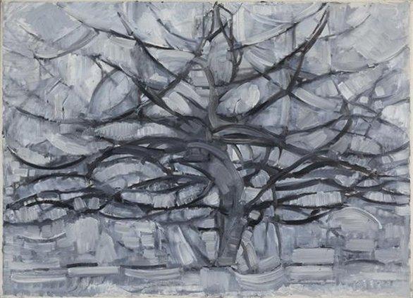Piet Mondrian The Gray Tree