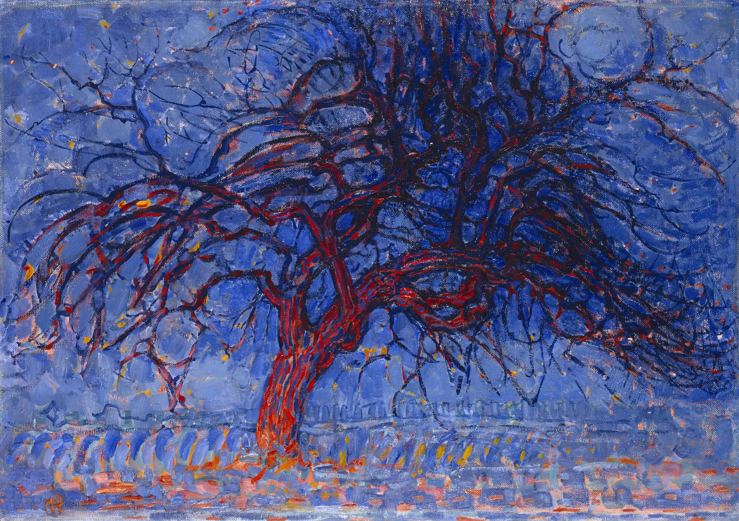 Piet Mondrian The Red Tree Print