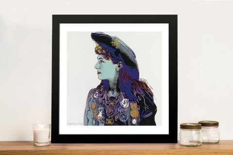 Annie Oakley by Andy Warhol Quality Art Prints