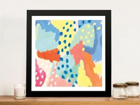 Buy Bright Life Colourful Abstract Wall Art Prints