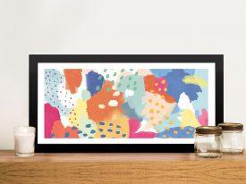 Buy Bright Life ll an Abstract Panoramic Print