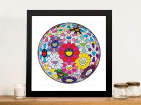Buy Flower-Ball - Open Your Hands Canvas Art