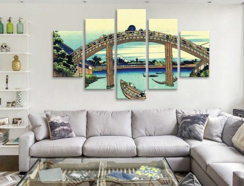 Buy Fuji Seen Through Mannen Bridge 5-Panel Set