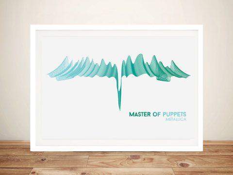 Metallica Master Of Puppets Wall Art