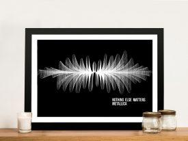 Metallica-Nothing-Else-Matters Soundwave Art-Brisbane