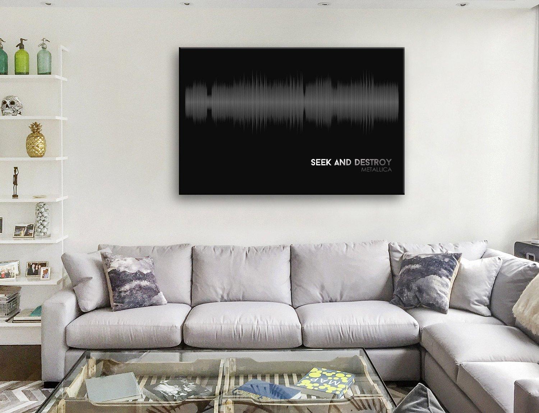 Buy Seek & Destroy Soundwave Canvas Artwork