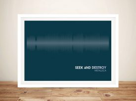 Buy Seek & Destroy Soundwave Wall Art