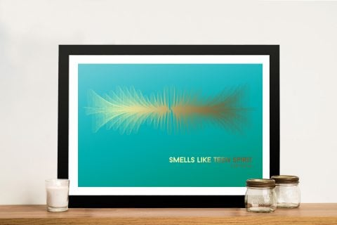 Smells Like Teen Spirit Soundwave Print