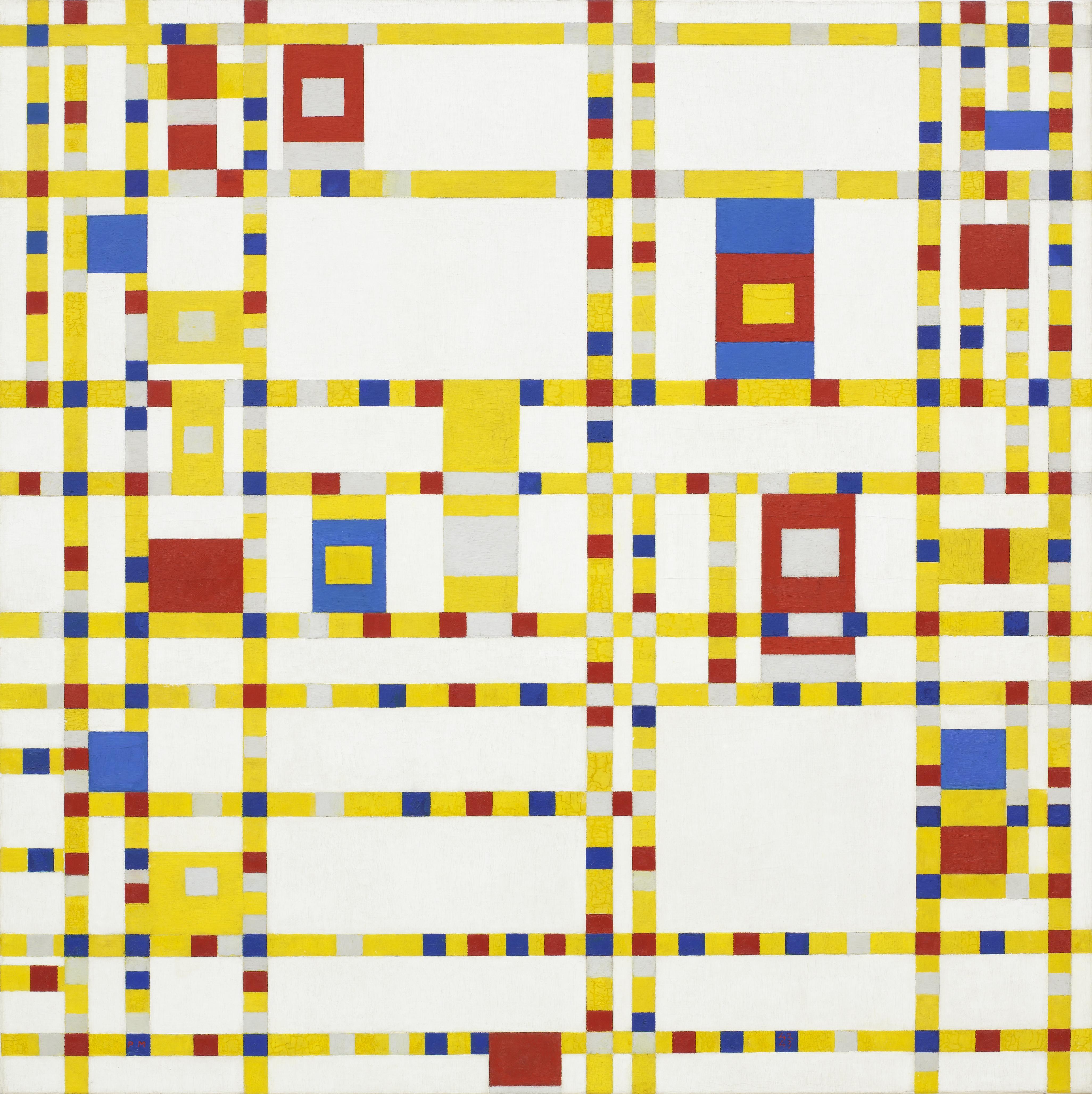 Piet Mondrian Broadway Boogie Woogie Canvas Sydney