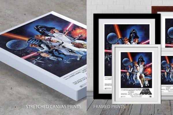 Quality Prints star wars prints