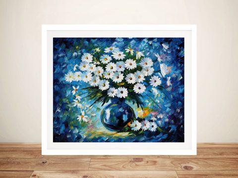 Buy Radiance Floral Wall Art by Leonid Afremov