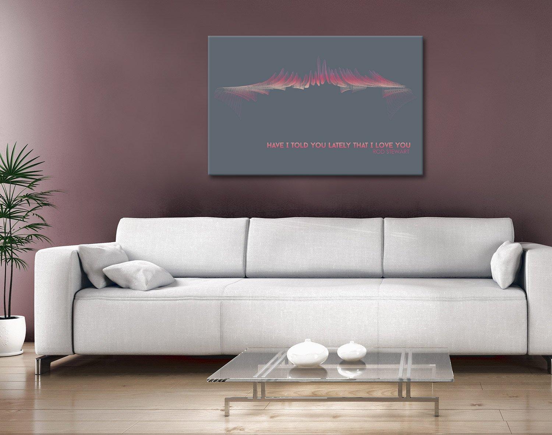 Rod Stewart Twiste Sonics Canvas Artwork