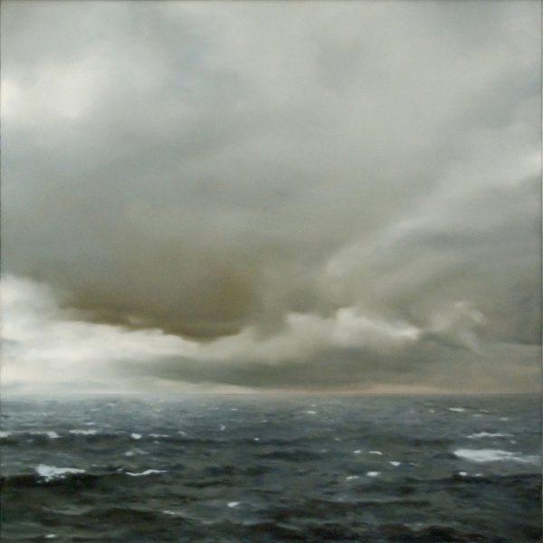 Seascape Cloudy 1969 Gerhard Richter Canvas Print