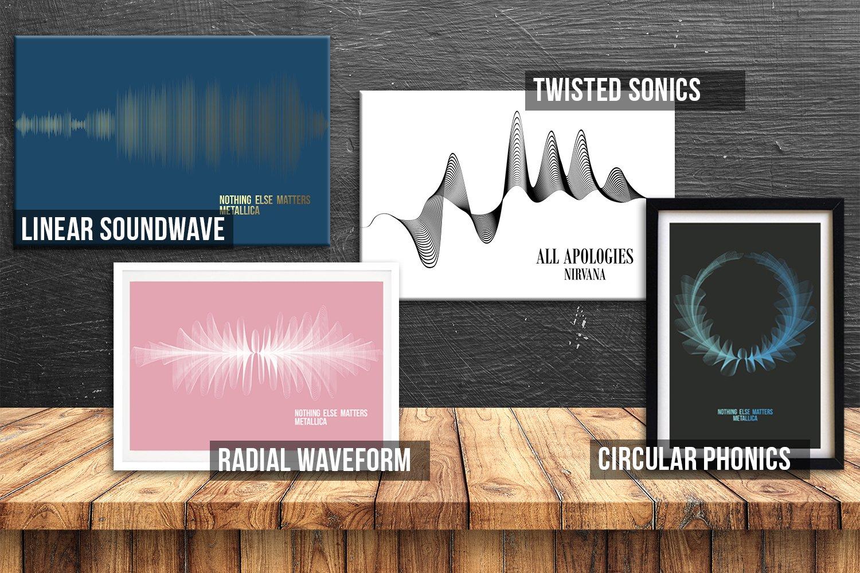 Soundwave Artworks Design Options