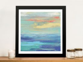 Buy Sunset Beach ll Pretty Seascape Artwork