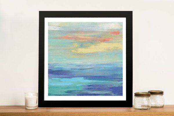 Buy Sunset Beach ll Pretty Seascape Artwork