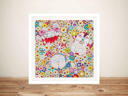 Takashi Murakami Kaikai Kiki And Me The Shocking Truth Revealed Framed Wall Art